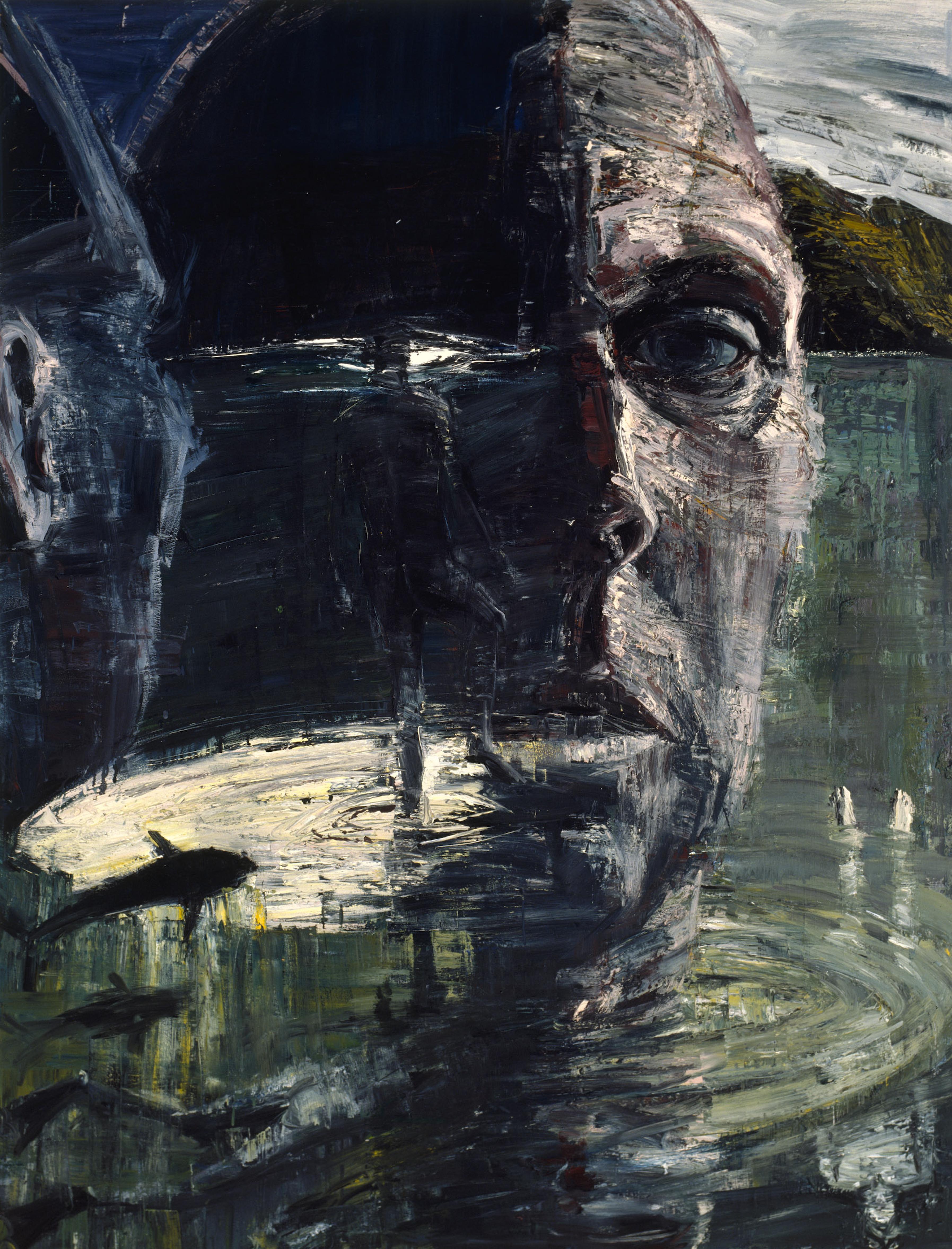 Self-portrait: head like a hole