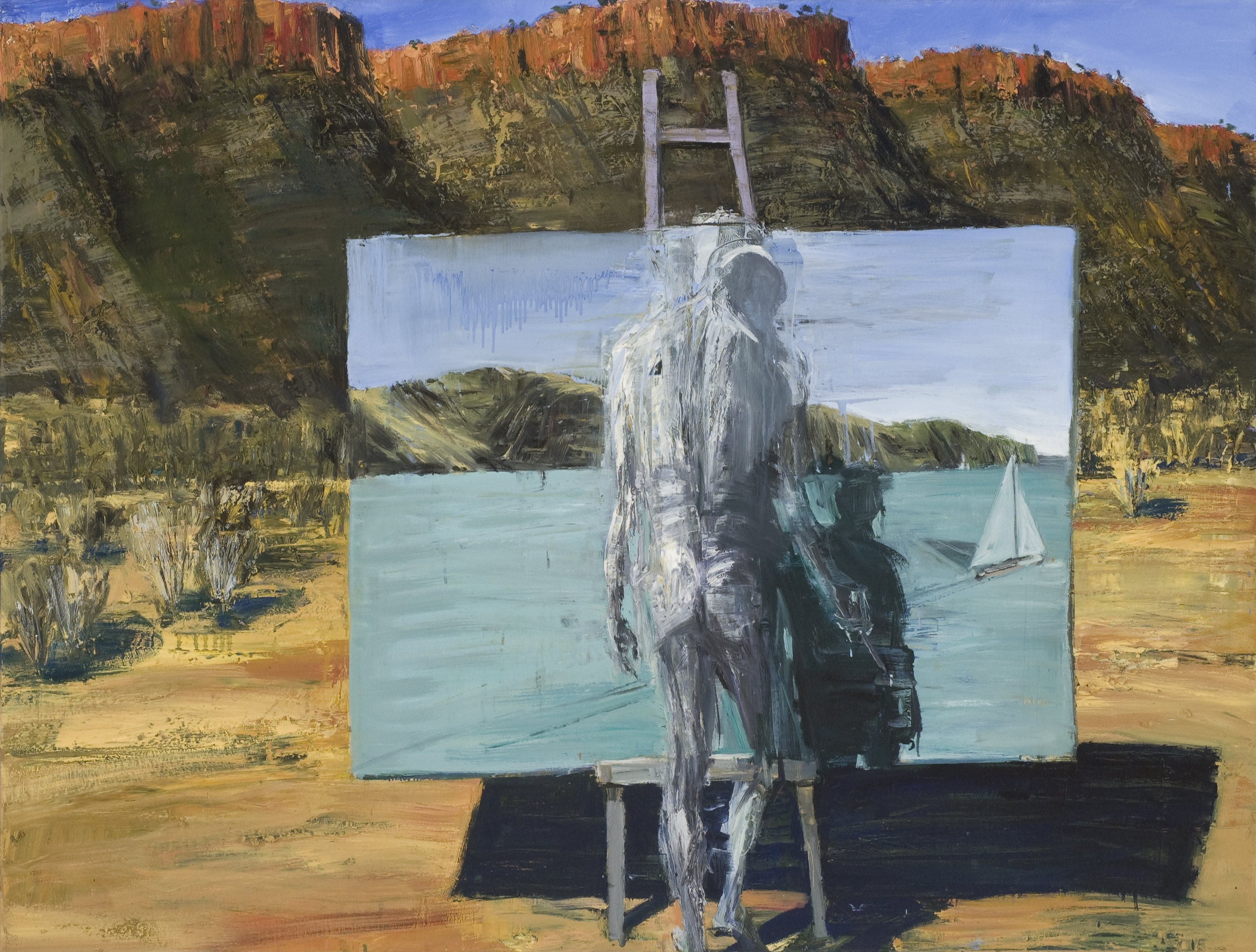 Oil on canvas 137 x 180cm