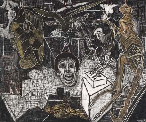 'Derangement' 2010, winner of Dobell prize for drawing prize