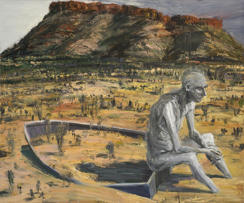Oil on canvas 150 x 180cm